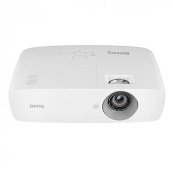 BenQ TH683 Full HD 1080p Home Entertainment Projector with Football Mode, 10 W Speaker, 3200 ANSI Lumen 10,000:1 High Contrast Ratio, HDMI, Short Throw - White