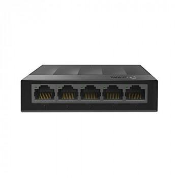 TP-Link LS1005G 5-Port Desktop/Wallmount Gigabit Ethernet Switch, Plastic Case