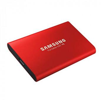 Samsung Portable SSD T5 500GB - Metallic Red