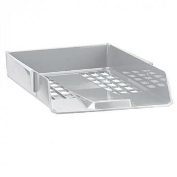 Avery 1132LGRY Basics Single Letter Tray/Intray, 278 x 70 x 390 mm - Light Grey