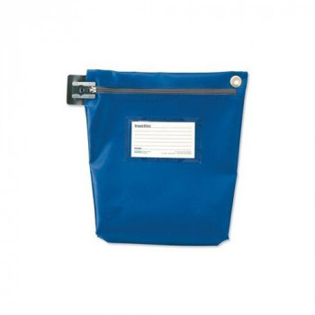 Versapak CCB1 BLS Medium Secure Cash Bag - Blue