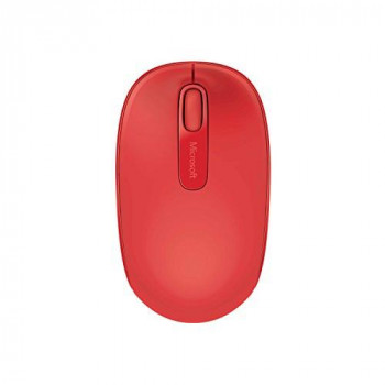 Microsoft 1850 Mouse - Wireless - Flame Red