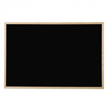 Bi-Office PM0701010 900 x 600 mm Board Pine Frame - Black