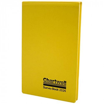 Exacompta Chartwell Field Survey Book, 130 x 205 mm, Plain with 2 Lines