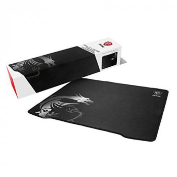 MSI AGILITY GD30 Pro Gaming Mousepad '450 mm x 400 mm, Pro Gamer Silk Surface, Iconic MSI Dragon Design, Anti-slip and Shock-Absorbing Rubber Base, Reinforced Stitched Edges'