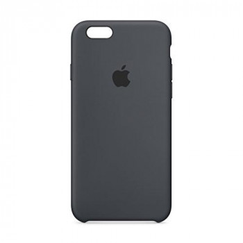 Apple Silicone Back Cover Case for iPhone 6/6S - Charcoal Grey