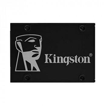 Kingston KC600 SSD SKC600/256G Internal SSD 2.5 Inch SATA Rev 3.0, 3D TLC, XTS-AES 256-bit Encryption