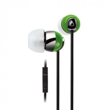 Creative HS-660i2 Noise-isolating in-ear Headset with in-line Remote and Microphone for iPhone/iPad/iPod - Lime Green