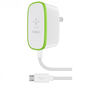 Belkin 1.8 m 12 W Wired Micro USB Mains Charger - White