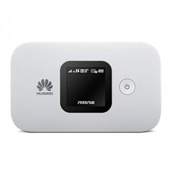 Huawei E5577-4G Low-Cost, Super-Fast Portable Mobile Wi-Fi Hotspot –(Genuine UK Warranty Stock)-White