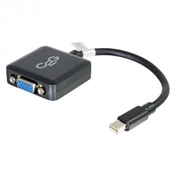 C2G 20cm Mini DisplayPort Male to VGA Female Adapter Converter - Black
