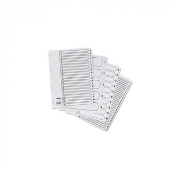 Concord Classic Index Mylar-reinforced Punched 4 Holes 1-10 A4 White Ref 00901 CS9