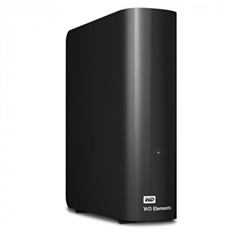 Western Digital WDBWLG0060HBK-EESN 6 TB Elements Desktop External Hard Drive, USB 3.0 - Black