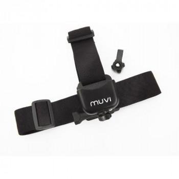 Veho Muvi Headband Strap Mount for Muvi KX-Series | Muvi K-Series | Muvi HD | Muvi Micro - Black (VCC-A014-HM)