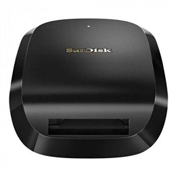 SanDisk Extreme Pro Cfexpress Card Reader, Sustaining Hyper-Fast Speeds throughout your Workflow, Black