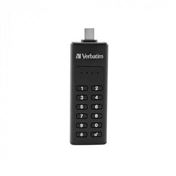 Verbatim Keypad Secure USB 3.0 C Drive 64GB, 49431