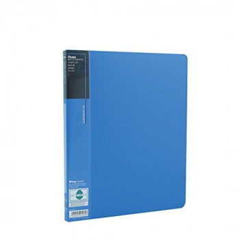 Pentel A4 Wing 20 Pocket Recycology Display Book - Blue Pack of 10