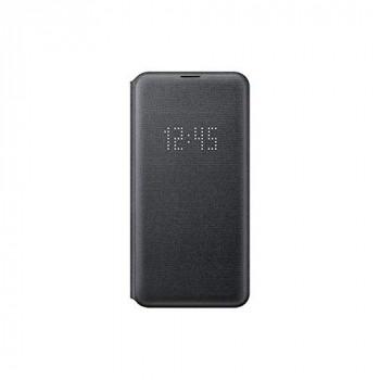 Samsung Original Galaxy S10e Protective LED View Wallet Cover Case - Black