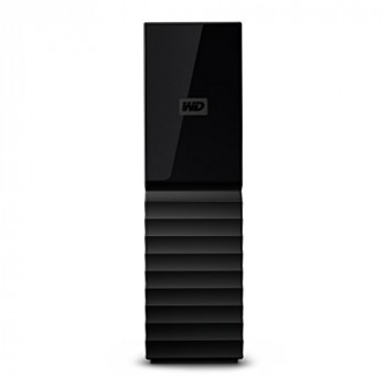 WD My Book 10 TB Desktop Hard Drive - Black