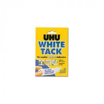UHU White Tack Mastic Adhesive Non-staining Handy Pack Ref 2633 [Pack of 12]