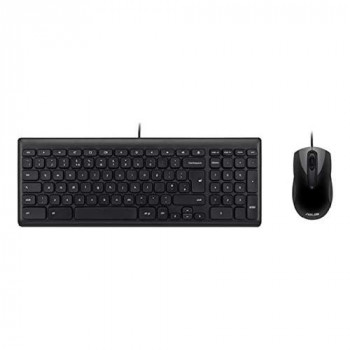 ASUS Wired Chrome OS Keyboard and Mouse, QWERTY, UK Layout