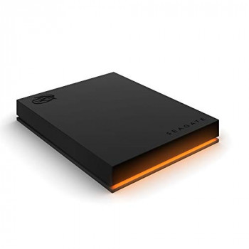 Seagate FireCuda Gaming Hard Drive, 1 TB, External Hard Drive HDD, USB-C, USB 3/2, RGB LED lighting, 3 Years Rescue Services (STKL1000400)
