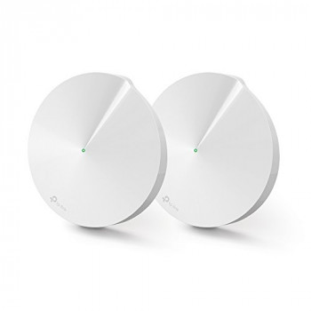 TP-Link Deco M5 Whole Home Mesh Wi-Fi, Up to 3000 sq ft Coverage (Works with Amazon Echo/Alexa and IFTTT, Router and Wi-Fi Booster Replacement, Antivirus Security Protection and Parental Controls) - Pack of 2
