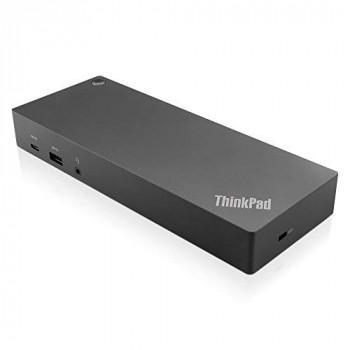 Lenovo 40AF0135UK ThinkPad Hybrid USB-C with USB-A Dock - Docking station - USB-C - GigE - 135 Watt - GB - for ThinkPad L480 L580 T480s X1 Yoga X280 - (Laptops > Laptop Docking Stations)