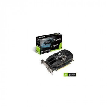 ASUS GeForce GTX 1650 OC (4GB GDDR5/PCI Express 3.0/1485MHz - 1740MHz/8002MHz/Low Profile)