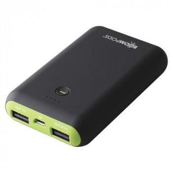 BOOMPODS Pocket size power Bank, 7500mAh Powerful Battery, Power Indicator