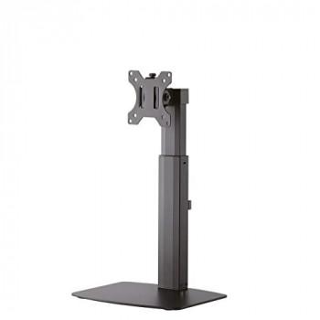 "Newstar FPMA-D865BLACK Stylish Tilt/Turn/Rotate Desk Stand for 10-32"" Monitor Screen, Height Adjustable - Black"