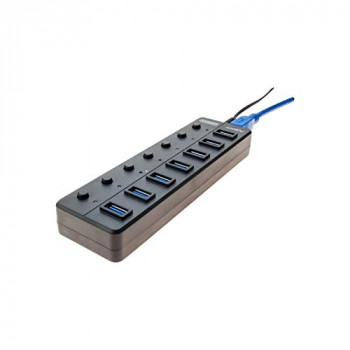 EXC European USB 3.0 7 Port HUB with PSU