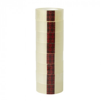 Scotch Easy Tear Tape, 19 mm x 33 m - Clear, Pack of 8 Rolls