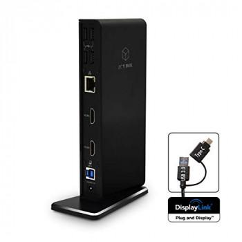 ICY BOX RaidSonic Multi-Docking-Station für Notebooks und PCs