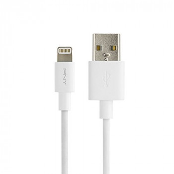 PNY C-UA-LN-W01-04 1.2 m Lightning Cable for Apple iPad/iPhone/iPod - White