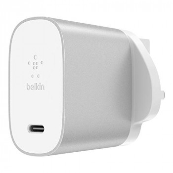Belkin F7U060my-SLV 27 W USB-C Power Delivery Home Charger - Silver
