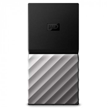WD My Passport Portable SSD 512 GB - Black/Silver