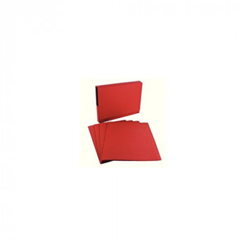Guildhall Square Cut Folder 315g Red