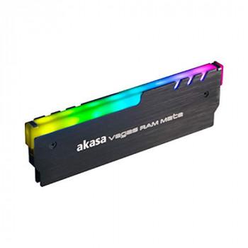 Akasa Vegas RAM Mate Hi Grade Aluminum Memory Heatsink with Addressable RGB LED Kit
