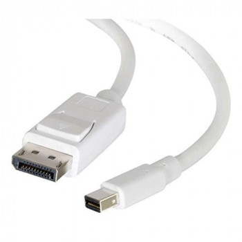 C2G 1m Mini DisplayPort to DisplayPort Adapter Cable M/M - White