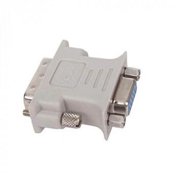 VCOM DVI-I (M) to VGA (F) Grey Retail Packaged Converter Adapter
