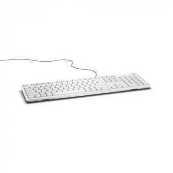 DELL KB216 - keyboards (USB, QWERTY, English, Wired, USB, White)