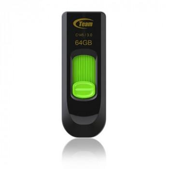 Team C145 64GB USB 3.0 Green USB Flash Drive