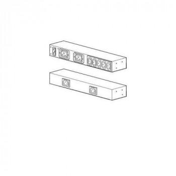 APC Rack PDU, Basic, 0U/1U, 100-240V/20A, 220-240V/16A, (7) C13, 2 C19