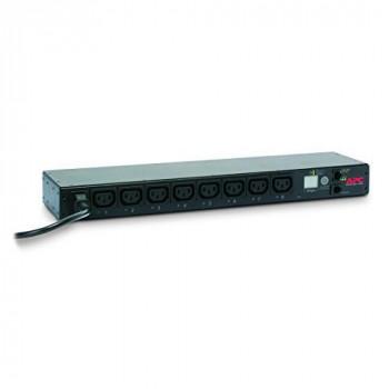 APC Rack PDU - AP7920B - Power Distribution (Switched, 1U, 12A/208V, 10A/230V, 8 Outlets C13, IEC C14)