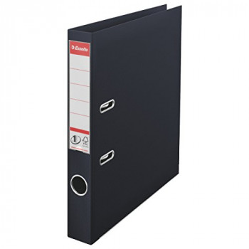 Esselte No. 1 Power A4 Lever Arch File with 50 mm Spine - Black, Pack of 10