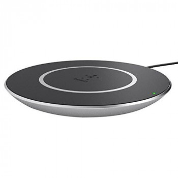 Belkin 15 W Fast Qi Wireless Charging Pad for Smartphones - Black
