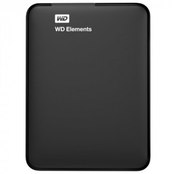 WD 1 TB Elements Portable External Hard Drive, USB 3.0
