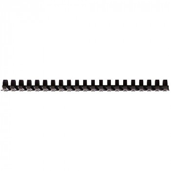 Fellowes Value A4 19mm Binding Combs - Black (Pack of 100)