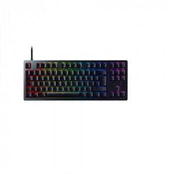 Razer Huntsman Tournament Edition Premium Keyboard with Razer Opto-Mechanical Keys, Optical Drive, Key Stabilizer Bar, Unmatched Durability, Razer Synapse 3 - UK Layout - Black